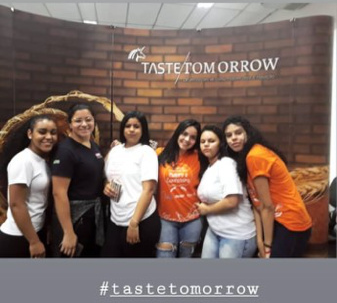 Students in Brazil discover Taste Tomorrow