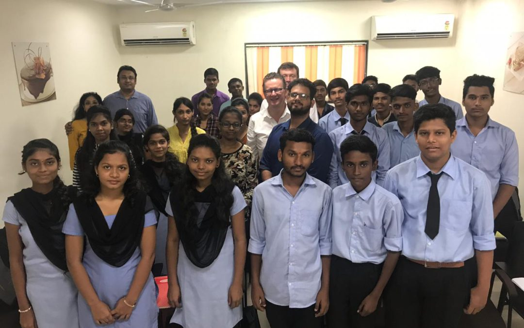 New batch students starts in India