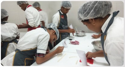 Fresh news from our Bakery School in India