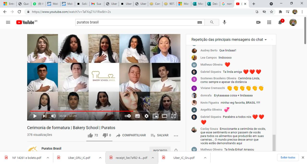 Bakery School Brazil – 4th graduation a Virtual Ceremony