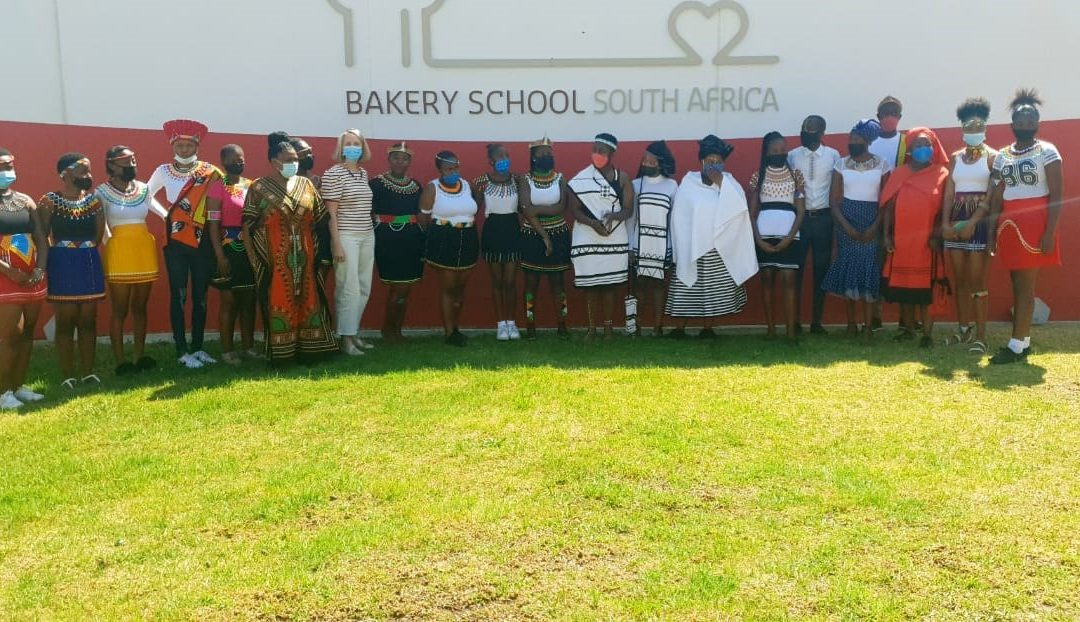 South-African students celebrating heritage day
